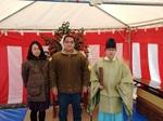 京都市上京区のY様邸の地鎮祭