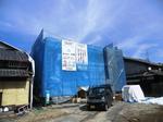 京都市伏見区K.O様邸の工事現場