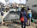 京都市右京区K様邸の基礎工事