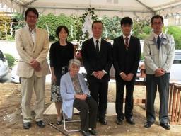 滋賀県大津市のA様邸の地鎮祭
