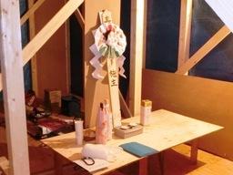 滋賀県大津市のA様邸の上棟式