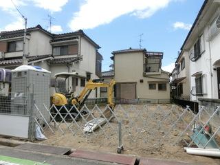 着工した京都府城陽市のI様邸