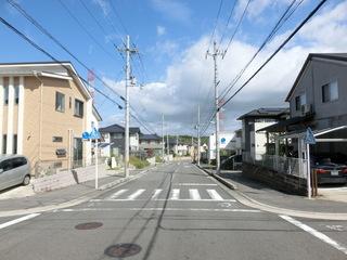 日本の住宅地の街並み