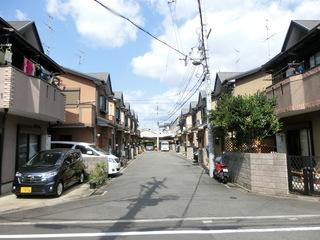 日本の住宅地(建売住宅)の街並み