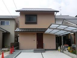 完成した京都市右京区のK様邸