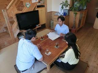 奈良市のSさん滋賀のはんべ工務店と面談