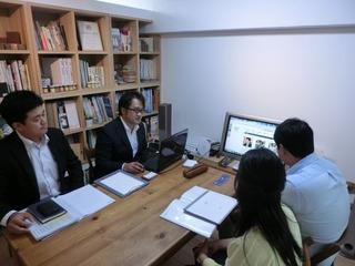 奈良市のSさん大阪のキコリと面談