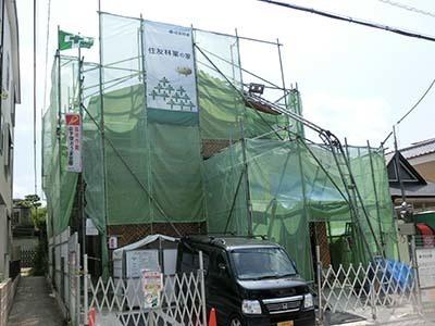 住友林業の工事現場.JPG