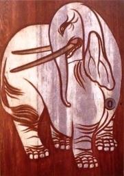 養源院の俵屋宗達の象の絵