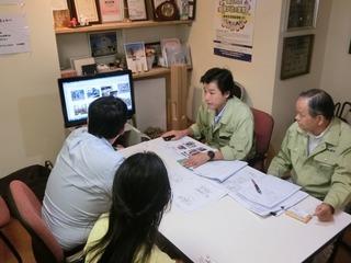 奈良市のSさん大阪の正南建設と面談