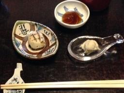 そば茶寮の澤正の会席