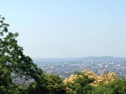 稲荷山からの景色