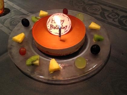 アッシュ スプランディードのバースデーケーキ