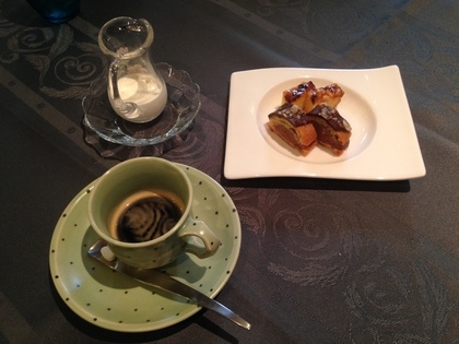 アッシュ スプランディードの食後のコーヒー